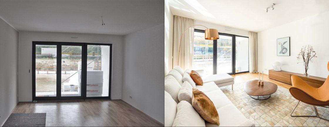 home staging berlin before after berlin homestaging. Black Bedroom Furniture Sets. Home Design Ideas